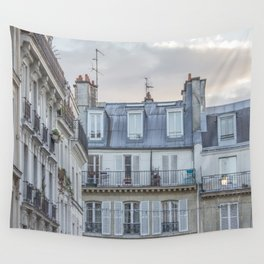 Paris Architecture Wall Tapestry
