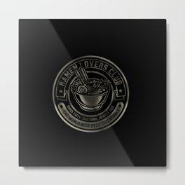 Ramen Lovers Club Metal Print
