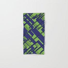 3D Abstract Futuristic Background III Hand & Bath Towel