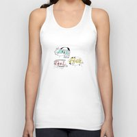 tool Tank Tops featuring Kool tool fool by Mary Delioussina