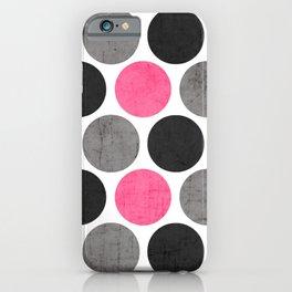 cosmopolitan polka dots iPhone Case