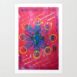 wdv Art Print