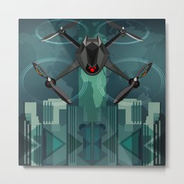 Amazon Prime Air or SKYNET the begining Metal Print