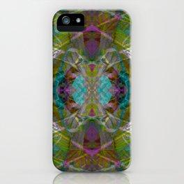 Trippy Kalidoscope Pattern - 100.1 iPhone Case