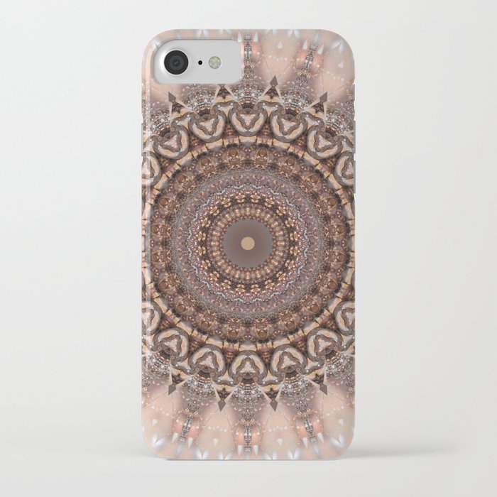 mandala romantic pink iphone case