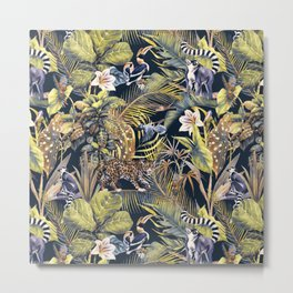 Wild Jungle - 01 Metal Print