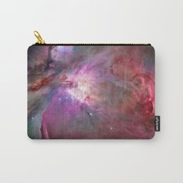 Galaxy, Nebula Mist, Crimson Red Carry-All Pouch