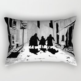 Oliver's Fate Rectangular Pillow