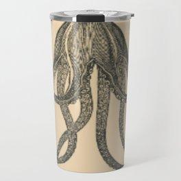 Vintage Octopus Travel Mug