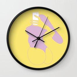 Say cheese! Wall Clock