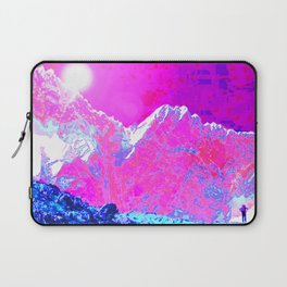 Alpenglow in Violet Laptop Sleeve