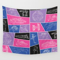 ships Wall Tapestries featuring Ships by Dorothy Leigh