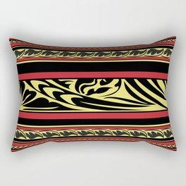 Maldivian Lacquer Work Rectangular Pillow