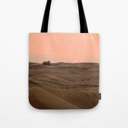 Arabian Desert Sunset Tote Bag