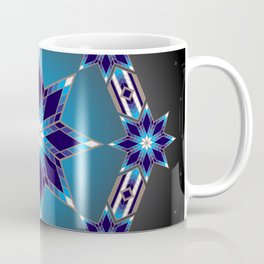 Morning Star Circle (Blue) Coffee Mug