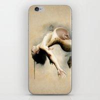 mom iPhone & iPod Skins featuring Mom by Herwig Scherabon