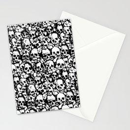 Skull Wall Stationery Cards