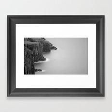 Neist Point Cliffs Framed Art Print