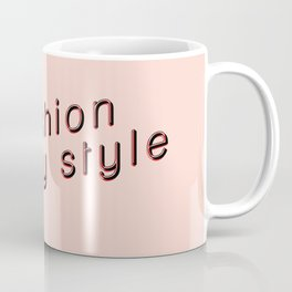 #styleblogger series no. 2 Coffee Mug