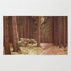 A Path in the Woods Rug