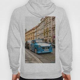 Trabant on the street of Prague Hoody