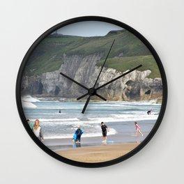 White Rock Beach Wall Clock
