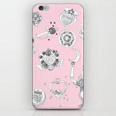 Sailor Moon Flash - Pink iPhone & iPod Skin