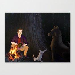 Lost in the Woods - Sterek Canvas Print
