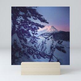 MountHood of OR Mini Art Print