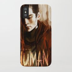 some of us are human iPhone X Slim Case