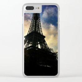 Eiffel Tower, Paris, France Clear iPhone Case