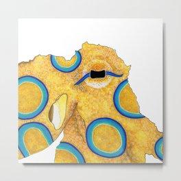 Eye of the Octopus Metal Print