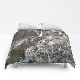 Silver Crystal First Comforters