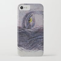 siren iPhone & iPod Cases featuring Siren by Michael Creese