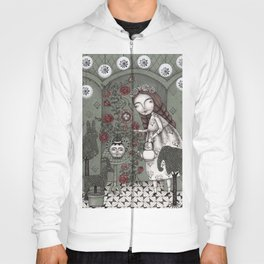 When it Snows Outside (My Secret Garden) Hoody