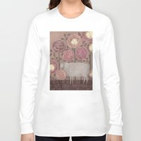 sleeping beauty Long Sleeve T-shirts featuring Sleeping beauty by Judith Clay