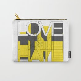 HATE LOVE Carry-All Pouch