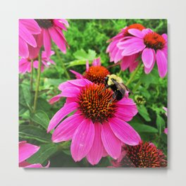 just bee-ing. Metal Print