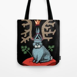 King of Fools 2 (Blue Rabbit) Tote Bag