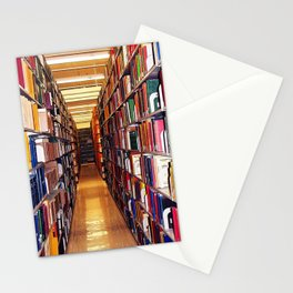 Library Books Stationery Cards