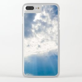 Clouday Clear iPhone Case