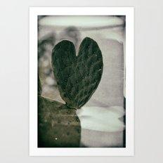 Padded Heart Art Print