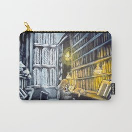 Hermione studying in the library Carry-All Pouch
