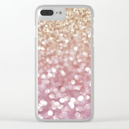 Holiday Bubbly Clear iPhone Case
