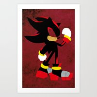 shadow Art Prints featuring Shadow by JHTY