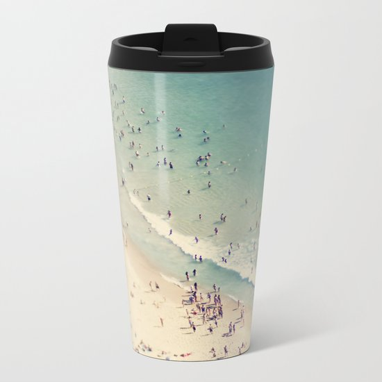 beach Metal Travel Mug