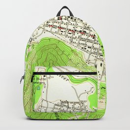 Vintage Map of Aspen Colorado (1960) Backpack
