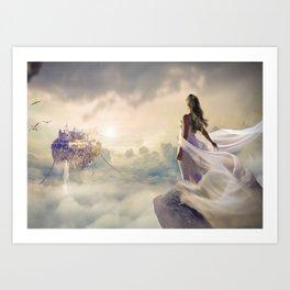 Fantasy   Fantaisie Art Print