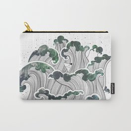 Storming mind | White Carry-All Pouch