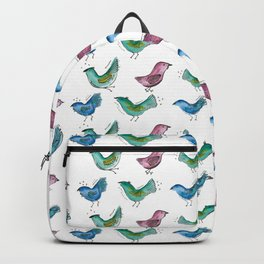 Color Birds Backpack